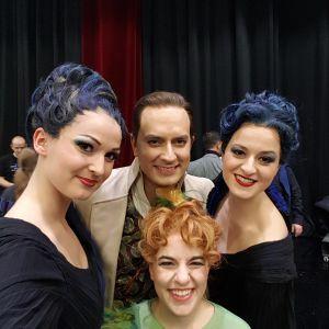 Slávka Zámečníková, Daniel Behle, Corinna Scheurle & Sarah Aristidou