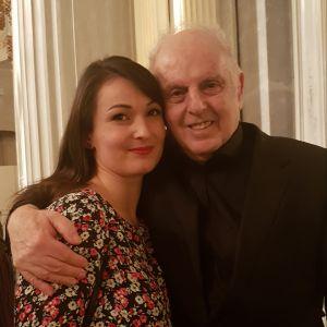 Slávka Zámečníková & Daniel Barenboim