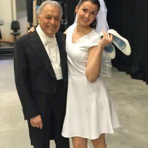 Zubin Mehta & Slávka Zámečníková (Nanetta)