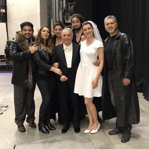 Alfredo Daza, Barbara Frittoli, Zubin Mehta, Slávka Zámečníková, Lucio Galo, Daniela Barcelona & Jan Martiník