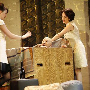 Slávka Zámečníková, Melissa Sofner & Chanyoung Lee